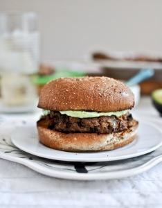 Double Bean Burger