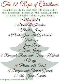 12 Reps of Christmas