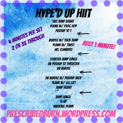 Hyped Up HIIT