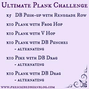 Ultimate Plank Challenge