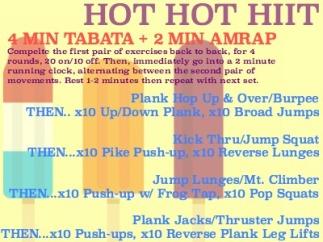 Hot Hot HIIT