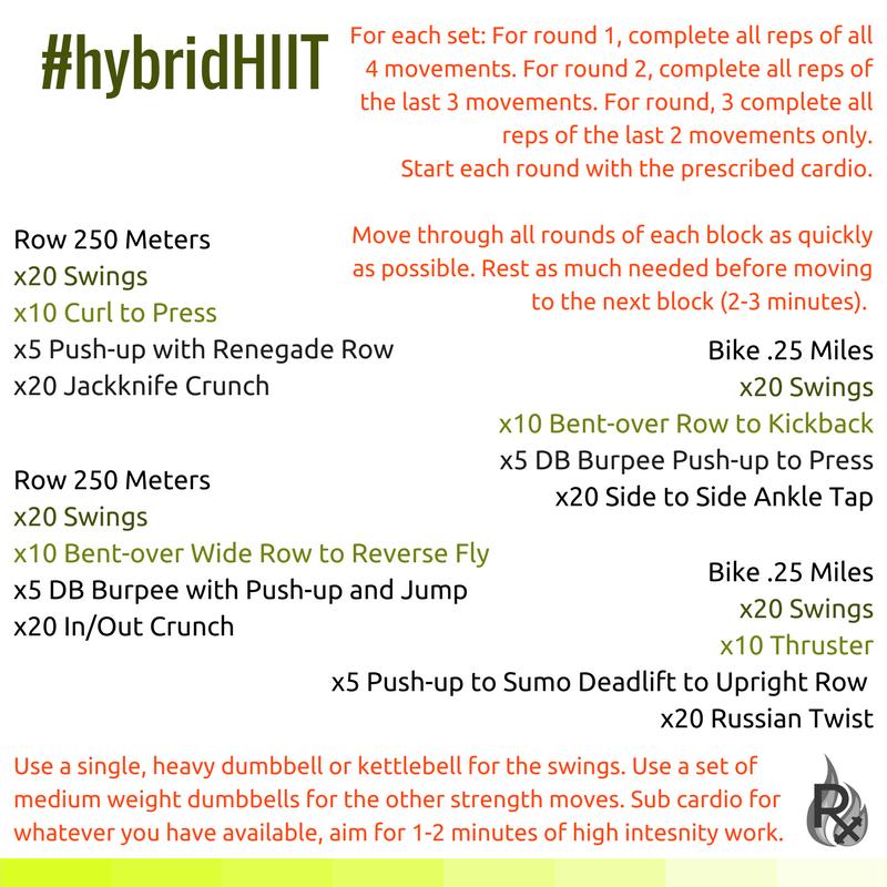 hybridHIIT #2